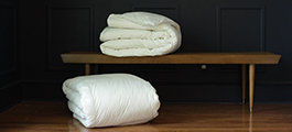 Down on Earth® organic comforters by Down Etc®