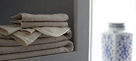 Silk Wash® organic terry towel collection by Down Etc®