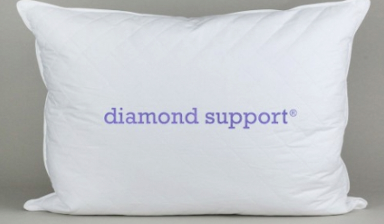 Diamond Support Down and Feather Pillow